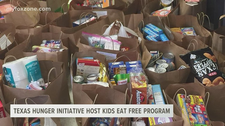 Texas Hunger Initiative beginning in Kids Eat Free program