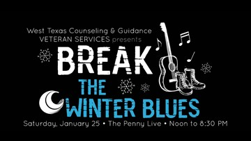 West Texas Counseling & Guidance to host inaugural 'Break the Winter Blues' music fest