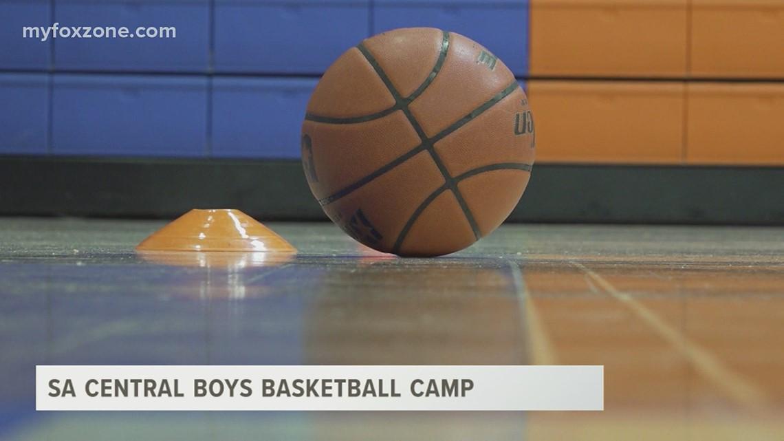 San Angelo Central boys basketball camp starts off strong