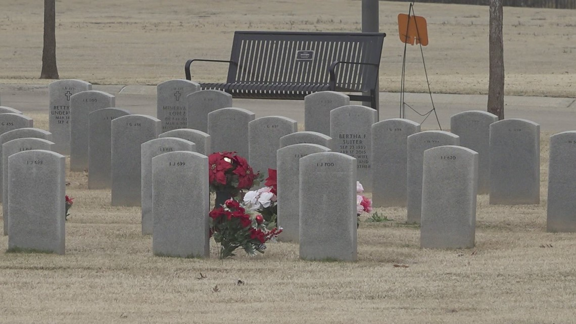 Wreaths arrive at the Texas State Veterans Cemetery for the annual National Wreaths Across America Day