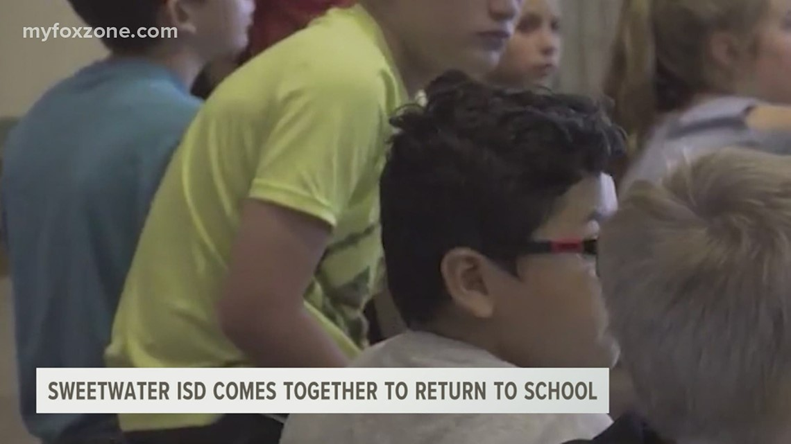 Sweetwater ISD comes together to return to school