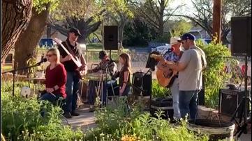 Band brings joy to residents at Menard Manor