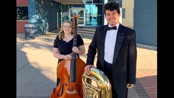 Two Lake View students selected for all-state band