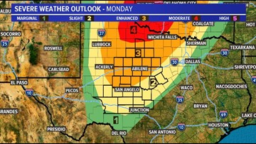 This may not be what you want to hear, but severe storms are back in our forecast Monday