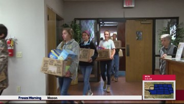 """#MakeADifferenceMonday: Wall Middle School donates to """"Somebody's Rusty"""" ministry"""