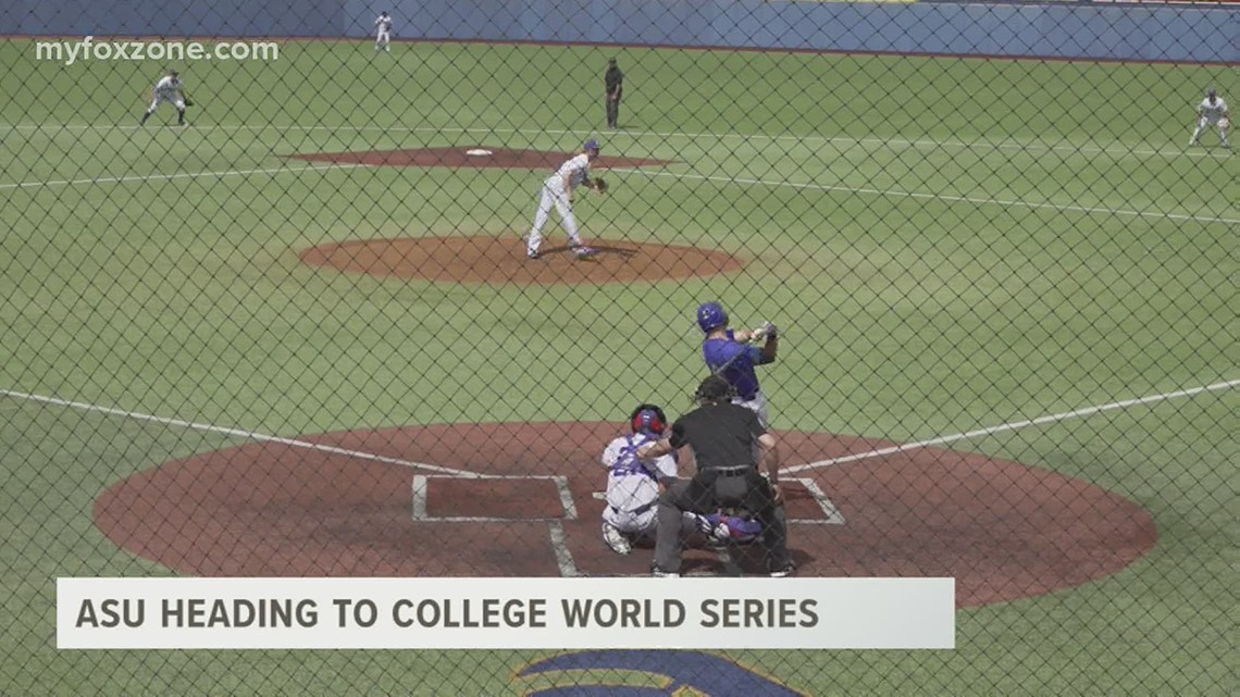 Angelo State heading to NCAA Division II College World Series