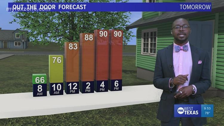 Wednesday night forecast 9/15/21 @9p
