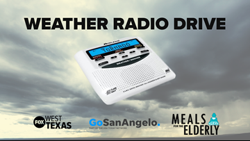 Media companies join forces to collect NOAA weather radios for seniors