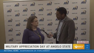 Angelo State to host military appreciation day