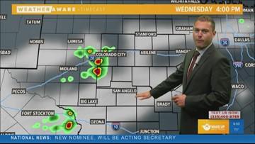 FORECAST: Triple digits return as storm chances remain constant