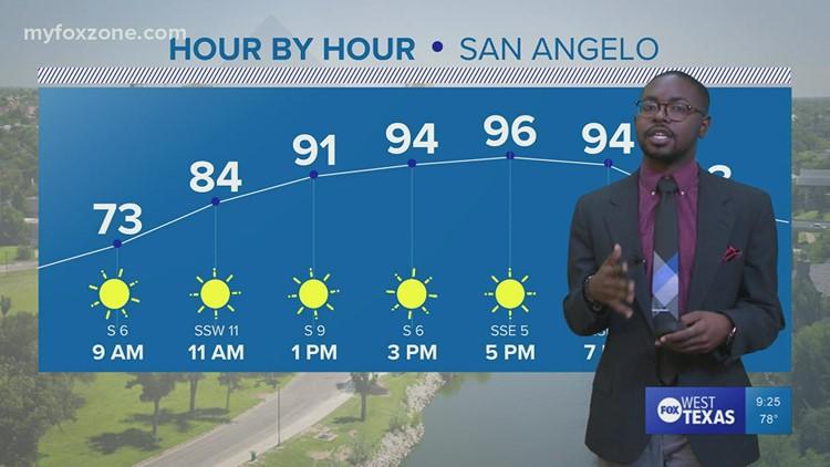 Thursday night forecast 9/16/21 @9p