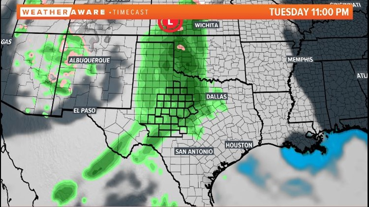 Tuesday night radar
