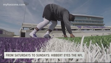 From Saturdays to Sundays: Dante Hibbert Eyes the NFL