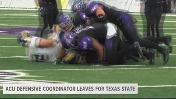 ACU DC Tremaine Jackson leaves ACU for Texas State