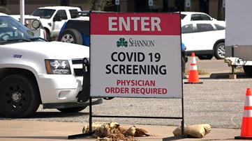 Shannon Medical Center adds second drive-thru COVID-19 screening, testing site