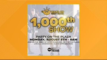 Join the 'Wake Up West Texas' 1000th show celebration Monday