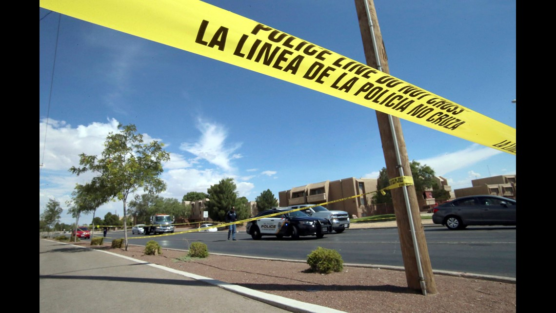 Images from shooting at El Paso strip mall