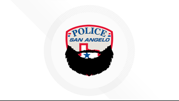 San Angelo PD officers raise $700 for 'Beards United' campaign