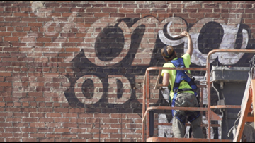 Ghost signs get a second chance at life in downtown