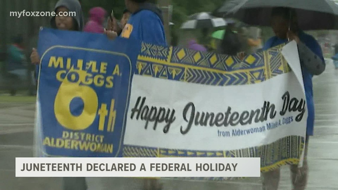 Juneteenth declared a federal holiday; San Angelo organization to host celebration