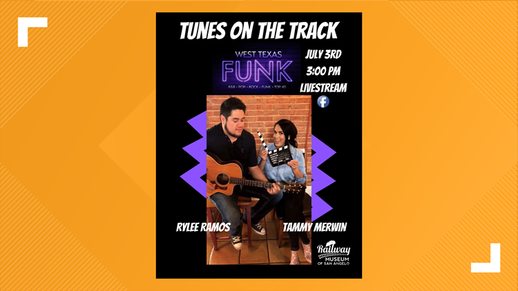 West Texas Funk to perform 'Tunes on the Track' Friday