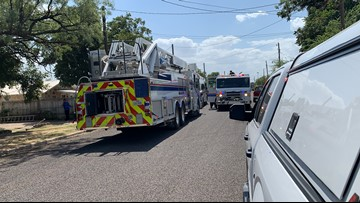 House fire ignites on West 17th Street Wednesday afternoon, no injuries reported