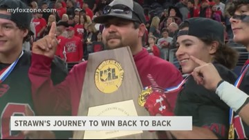 Strawn's journey to win back to back