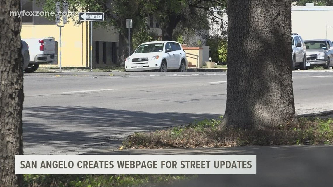 The City of San Angelo launched a new webpage dedicated to all things streets