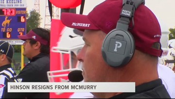 Hinson Resigns From McMurry