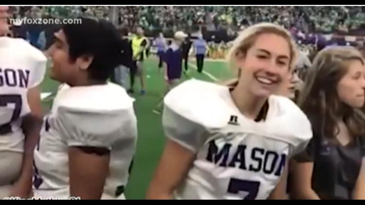 Mason star is breaking down barriers on the football field