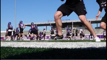 ACU football is back in action for spring ball