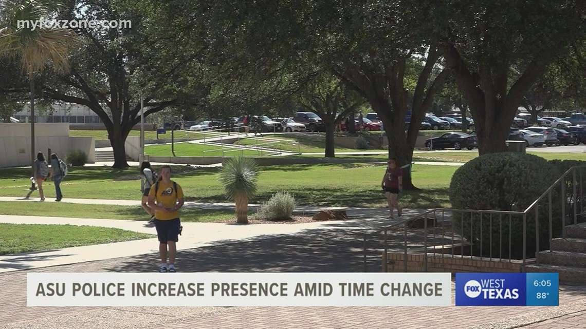As Daylight Saving Time ends, college campus safety increases