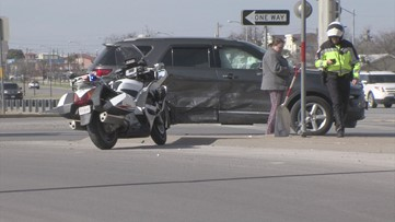 Collision causes a brief slowdown at the intersection of Bryant Boulevard and West 7th Street