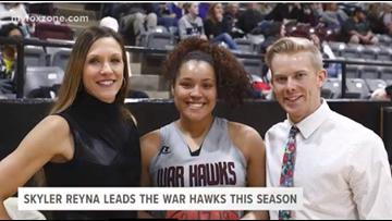 Skyler Reyna continues to  lead the War Hawks this season