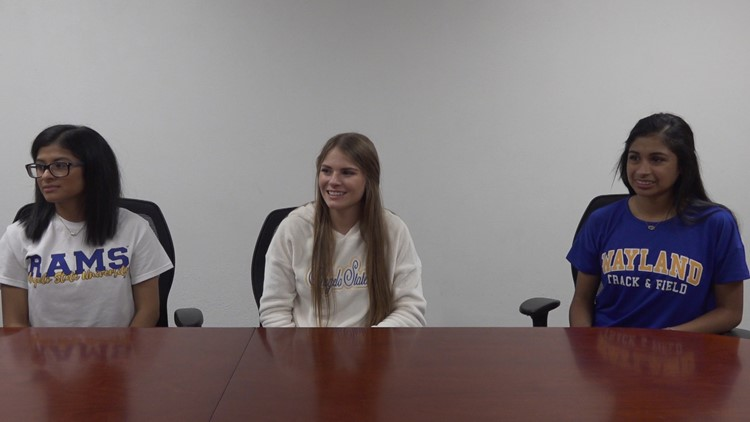 Signing ceremony held for three Christoval HS student-athletes