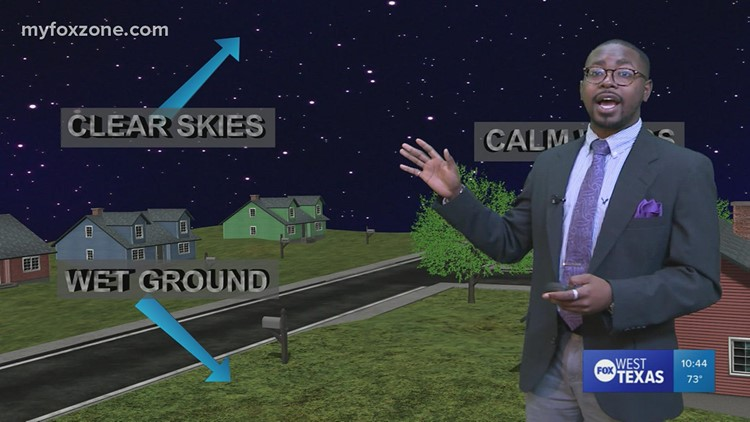 Morning Radiation Fog Explanation