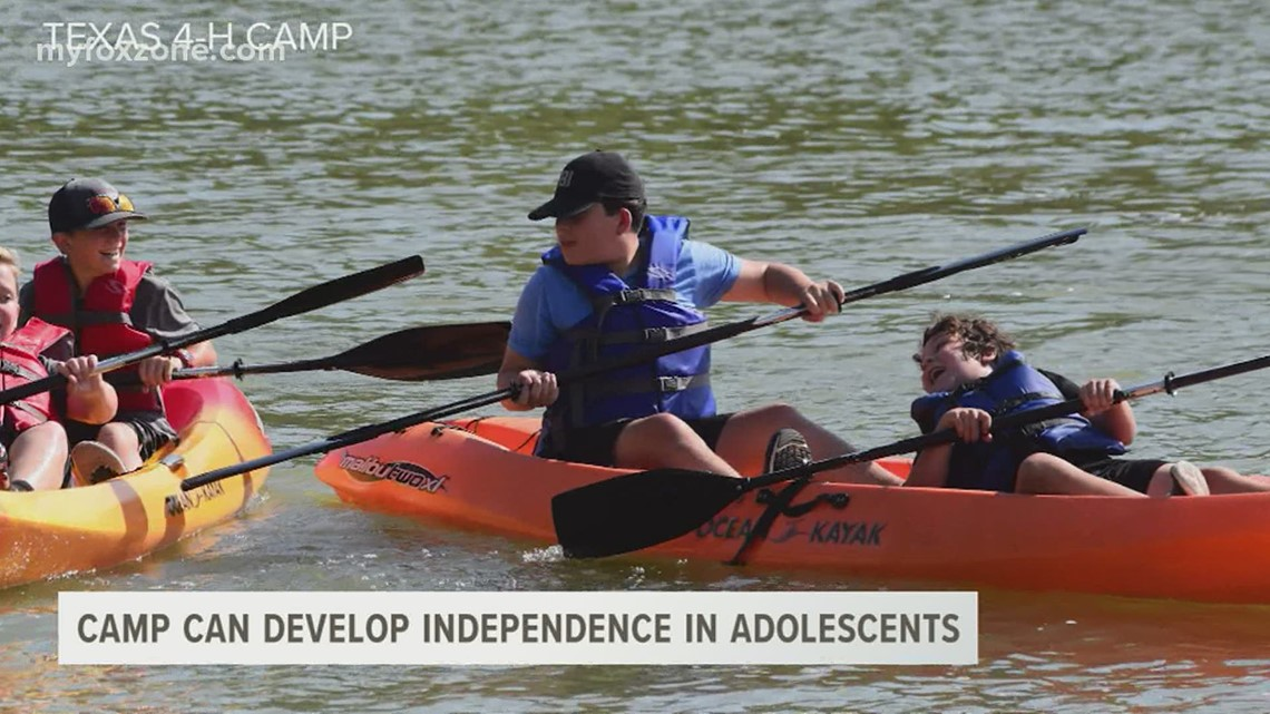 Children can develop independence at summer camp
