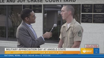 Military service member speaks out about military appreciation day at Angelo State