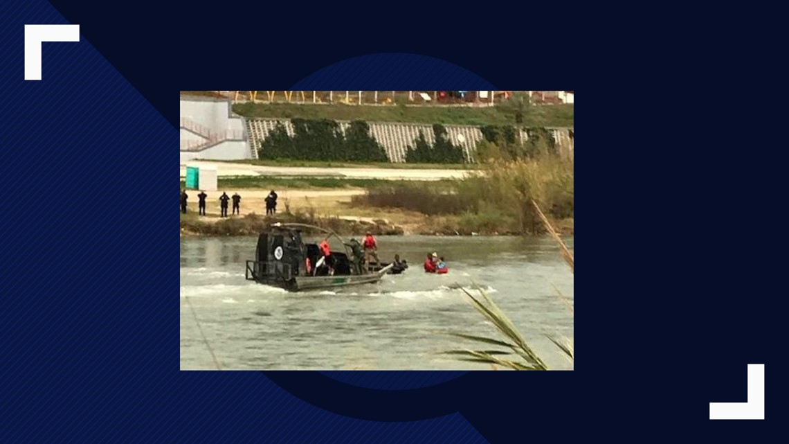 Border Patrol rescues family of five from Rio Grande