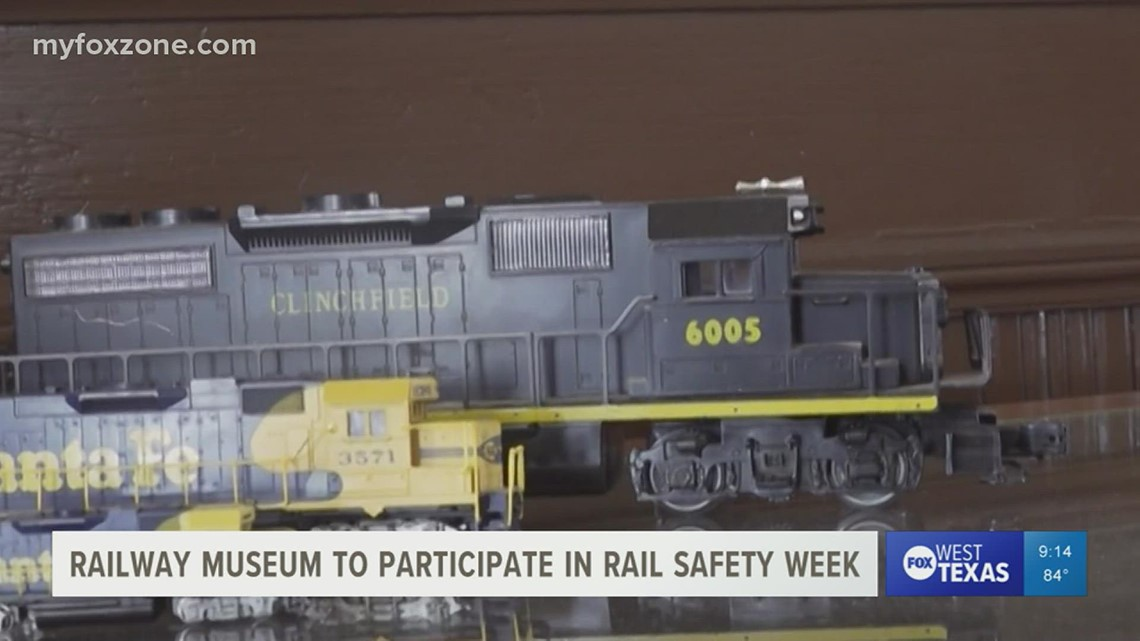 Railway Museum of San Angelo promotes crossing safety