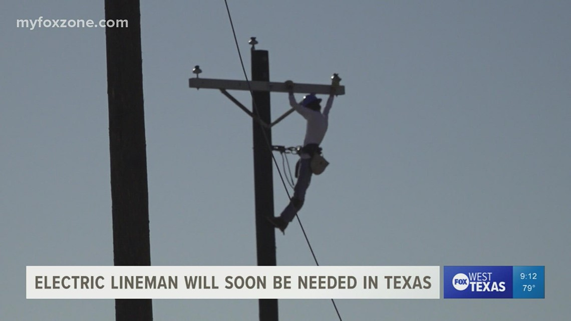 West Texas College training new generation of workers to keep the lights on