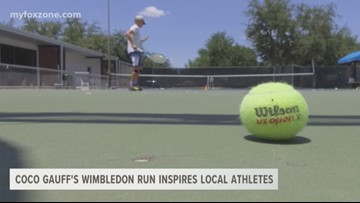 Future West Texas young tennis stars get their shine from COCO