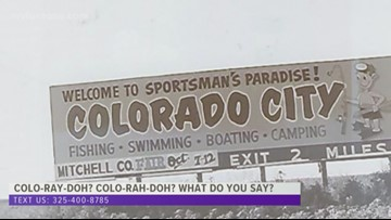 How do you say Colorado City? Long-time residents set the record straight