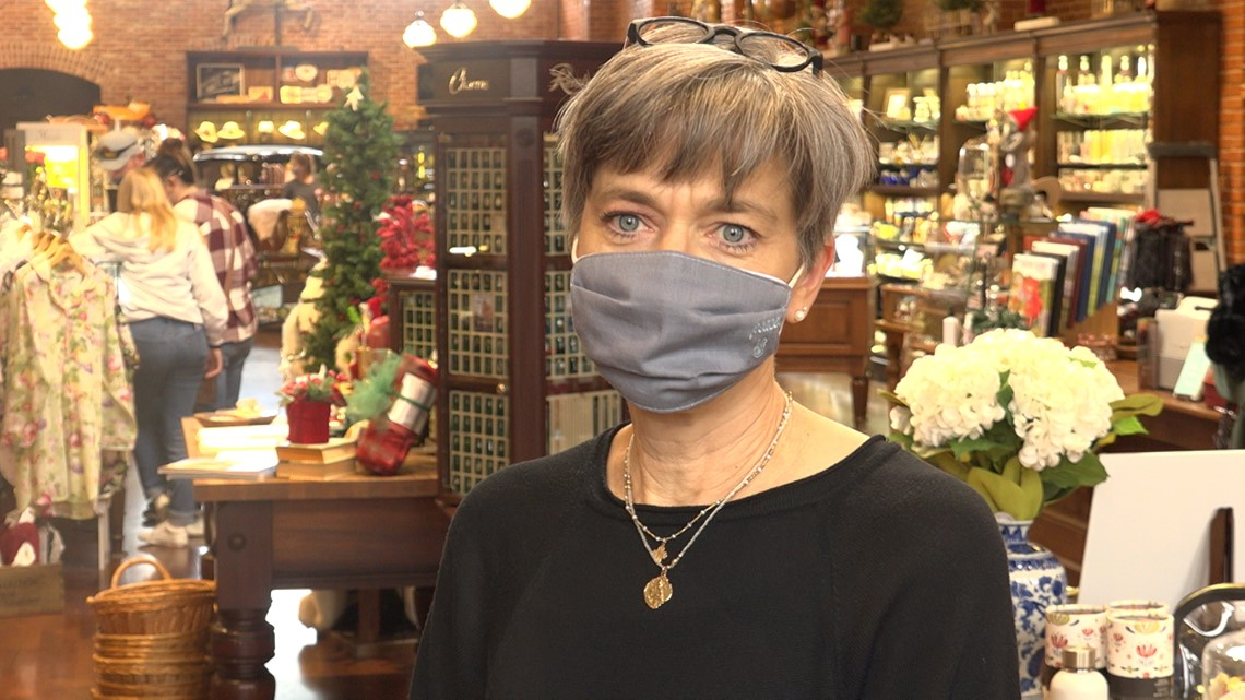 Small business owners are hoping holiday shopping will help them recover from COVID-19