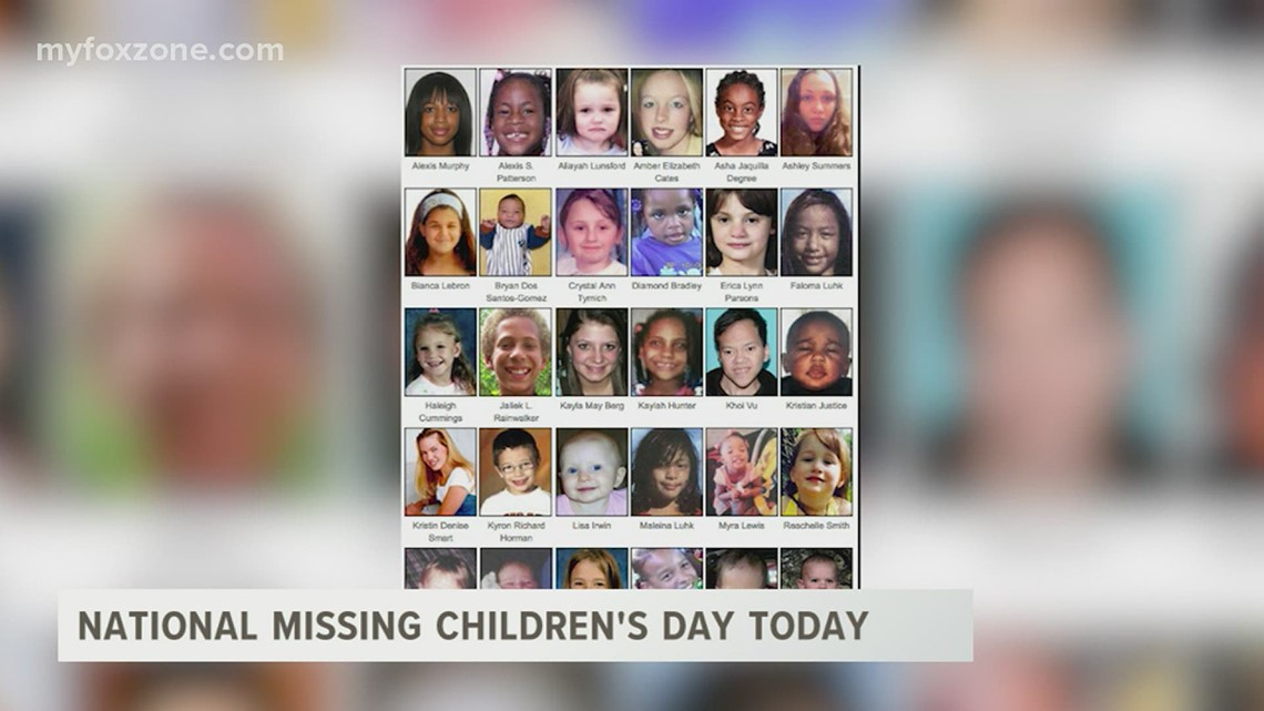 National Missing Children's Day observed Tuesday