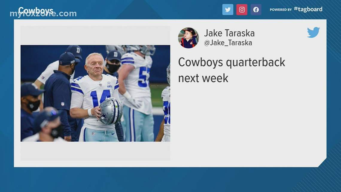 Twitter reacts to the Cowboys' Thanksgiving game