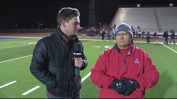 Interview with Coach Faith after Albany loses in State Semifinals