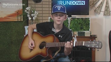 FRIDAY FEATURE: 12-year-old aspiring country music star, Logan Daniels