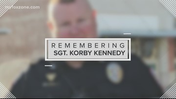 A tribute to Sgt. Korby Kennedy, four years since his end of watch