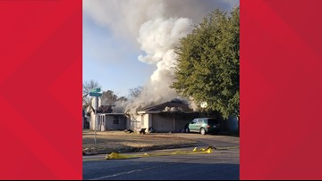 SAFD responds to structure fire at home on Oxford, no injuries reported